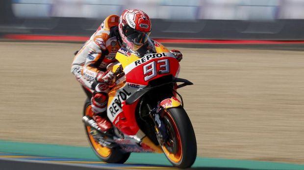 Marc Marquez berhasil memenangkan MotoGP Prancis.