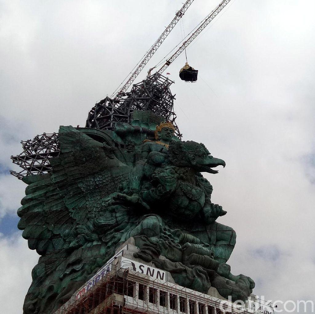 Foto: Patung GWK Sebentar Lagi Rampung!