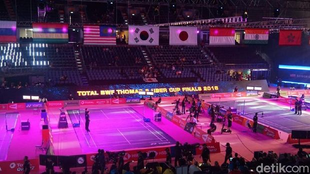 Live Report Piala Thomas: Indonesia vs Kanada