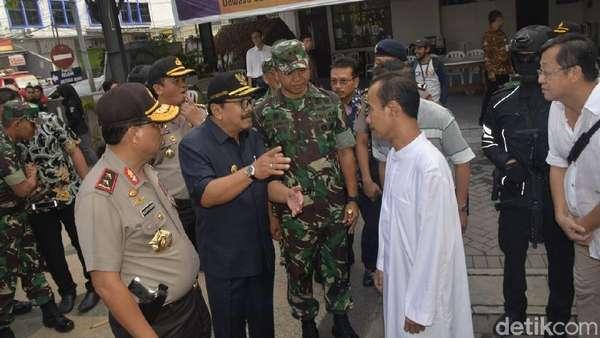 Sepekan Pascabom, Gubernur Jatim Pastikan Ibadah di Gereja Aman
