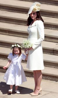 Kate Middleton bersama Putri Charlotte.