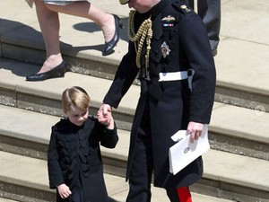 Hal Manis Ini Dilakukan Pangeran George Saat Royal Wedding