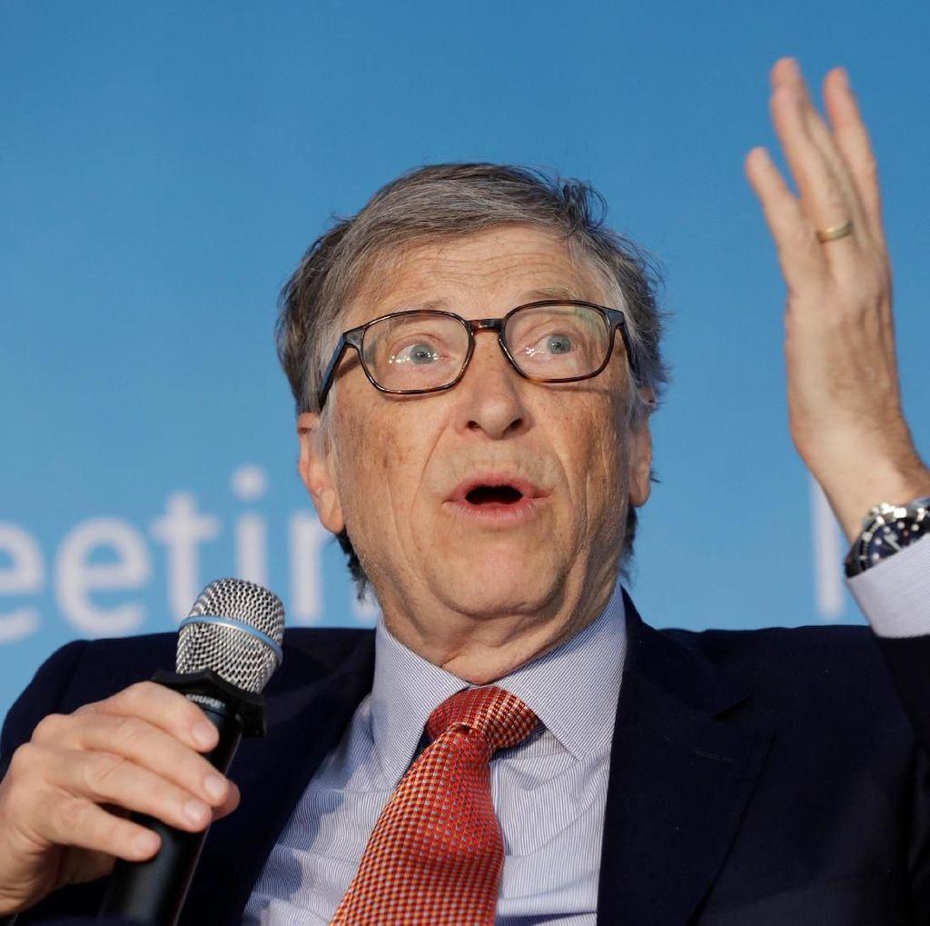 Bill Gates: Donald Trump Kebingungan Soal HIV