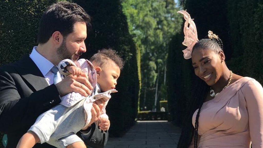 Sedihnya Serena Williams Tak Lihat Putrinya Jalan Pertama Kali