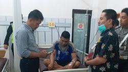 Jenguk Polantas Gowa yang Ditabrak Oknum TNI, Kodam Minta Maaf