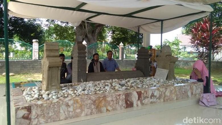 Foto: Makam Sultan Malikussaleh di Aceh (Datuk Haris Molana/detikTravel)