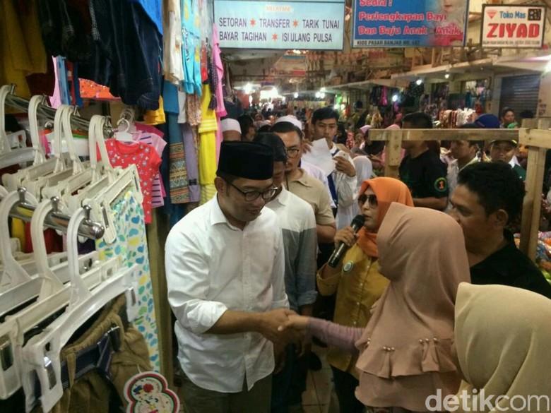 Kampanye di Banjar, Ridwan Kamil Janjikan Kredit Tanpa Agunan