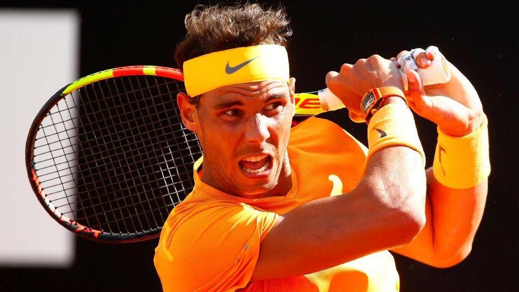 Video Nadal Kandaskan Djokovic di Italia Terbuka