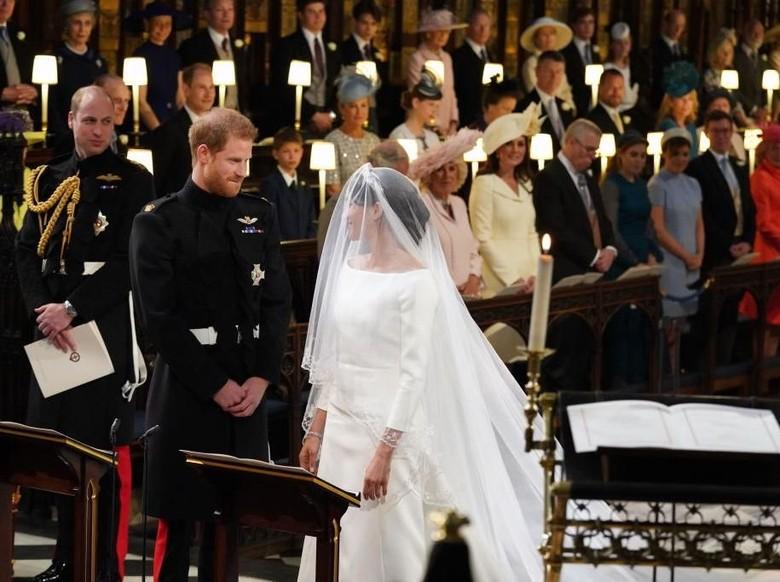 Royal Wedding Pangeran Harry dan Meghan Markle Foto: Jonathan Brady - WPA Pool/Getty Images