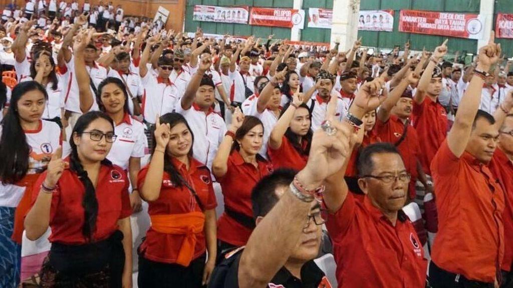 Deklarasi Pemenangan Wayan Koster di Pilgub Bali