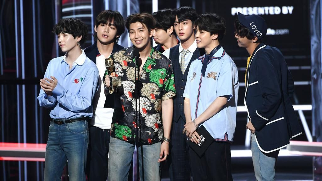 Wow! BTS Raih Penghargaan di Billboard Awards 2018