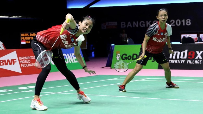 Della/Rizki Kalah, Indonesia Runner-up Grup D