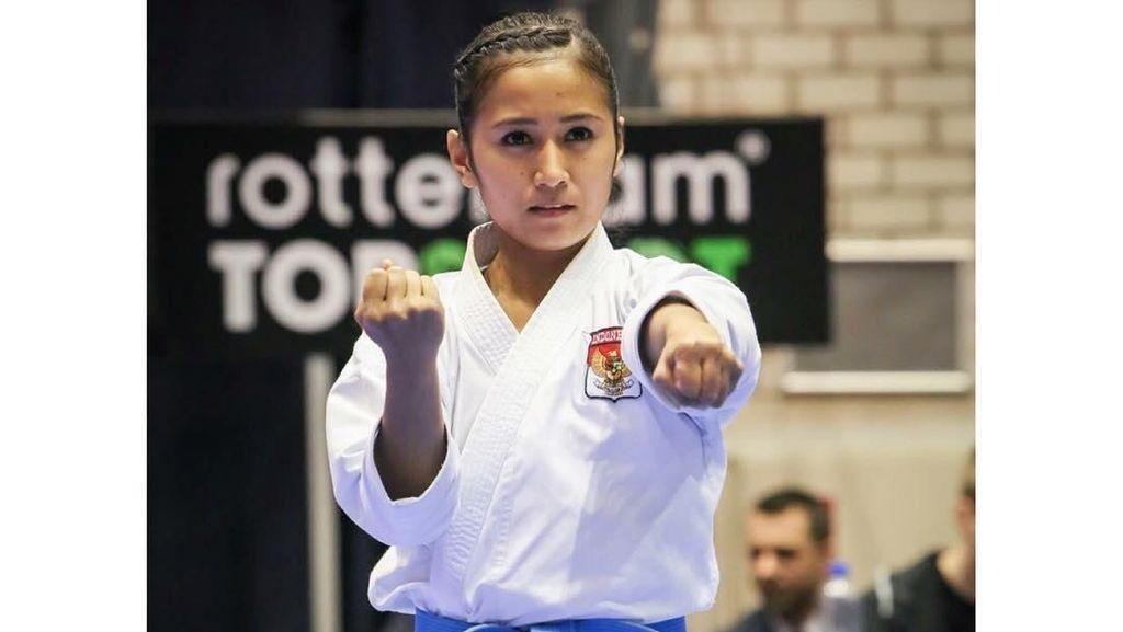 Terpukau Pesona Cantiknya Sisil, Atlet Karate yang Gahar di Arena