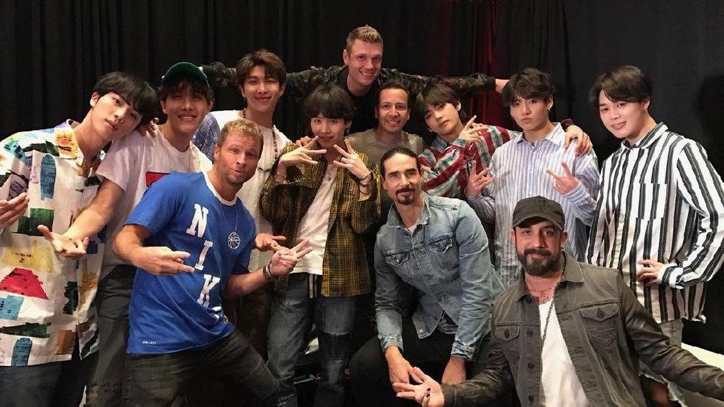 Backstreet Boys Ngaku Ngefans BTS, Netizen Histeris