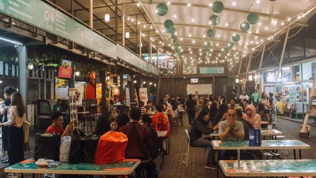 Buka Puasa di Bandung, Cicipi Kuliner di Jl Sudirman