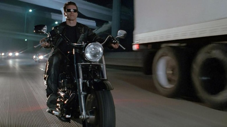 Harley-Davidson Fat Boy di film Terminator (Foto: Visordown)