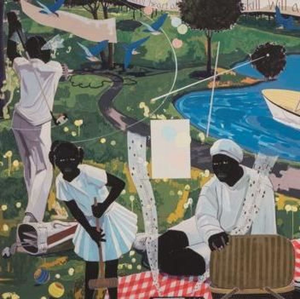 Wow... Rapper Diddy Beli Lukisan Kerry James Marshall Rp 301 Miliar