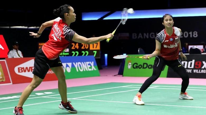 Della/Rizki Kalah, Indonesia vs Thailand Imbang 2-2