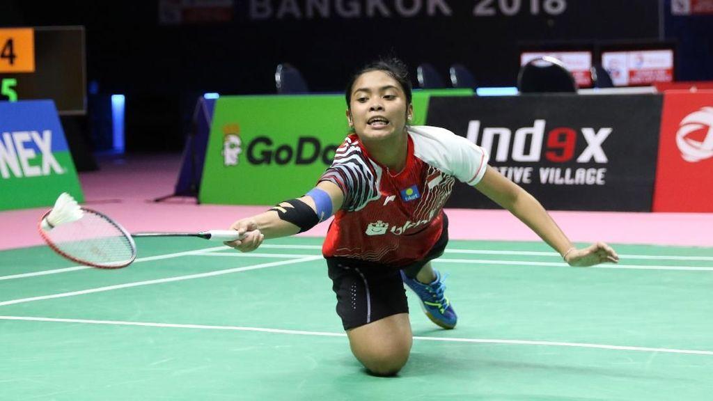 Gregoria Bawa Indonesia Berbalik Ungguli Malaysia 2-1
