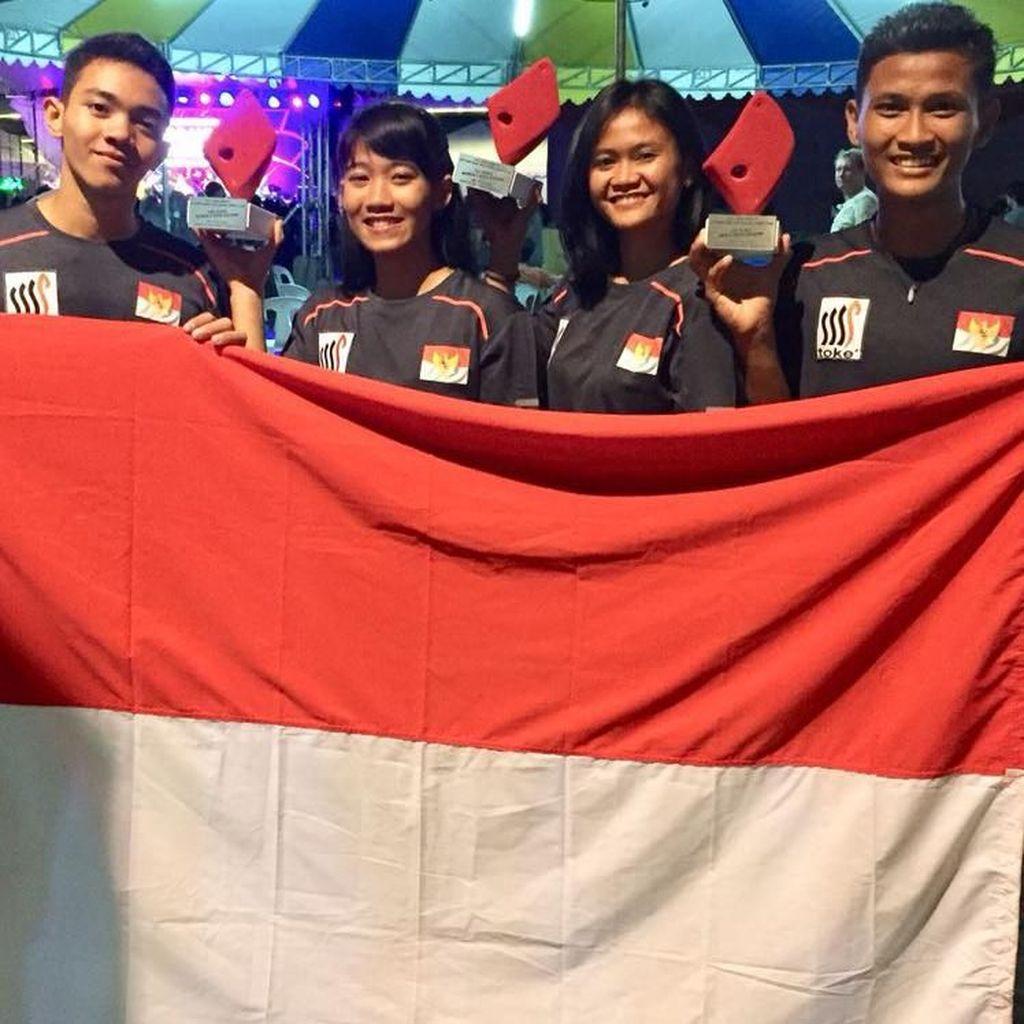 Panjat Tebing Indonesia Raih Dua Medali Emas di Filipina