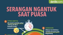 Infografis: Mengapa Selalu Ngantuk Sehabis Sahur?