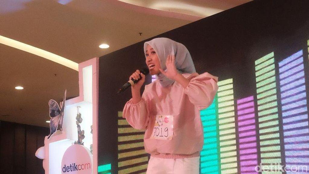 Agnia Finalis Sunsilk Hijab Hunt 2018 dari Jakarta Bersuara Merdu