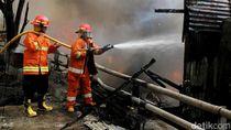 42 Rumah Hangus Terbakar di Cipinang dan Pondok Bambu