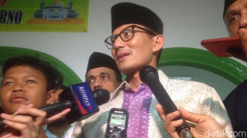 Opor Ayam Bikinan Mertua Jadi Favorit Sandiaga Uno Saat Lebaran