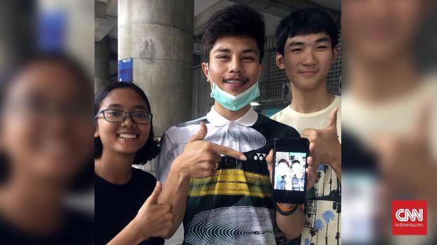 Fan dari Thailand juga mengidolakan Kevin.Marcus