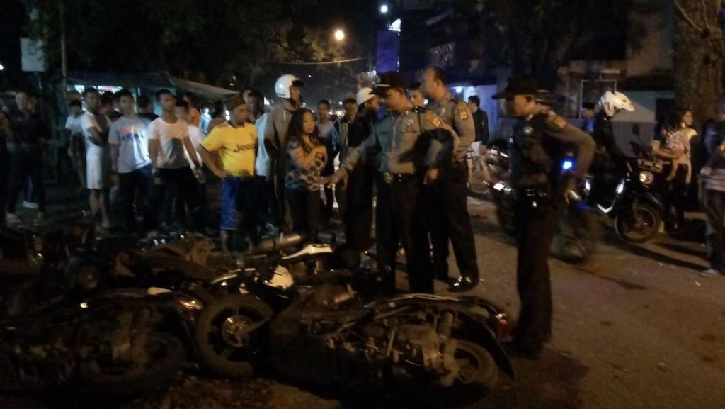 Polisi Buru Gerombolan Bermotor yang Bacok Seorang Warga Bandung
