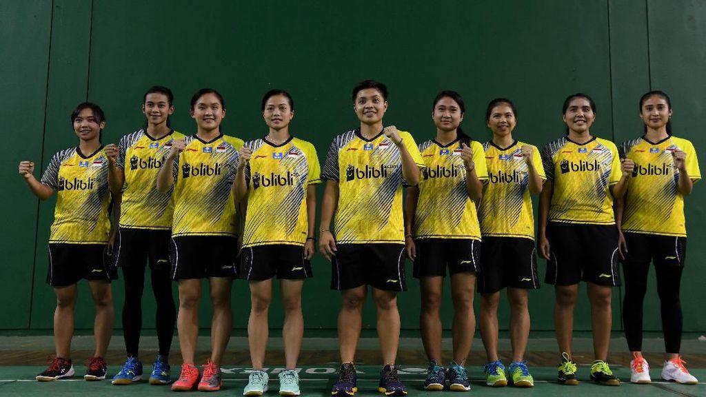 Tim Piala Uber Indonesia Kembali Terhenti di Perempatfinal