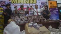 Gerebek Gudang di Wonosobo, Polisi Sita 1 Juta Butir Petasan