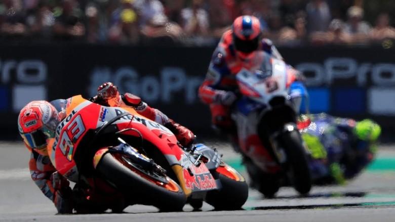 Marc Marquez di MotoGP Prancis (Foto: Gonzalo Fuentes/Reuters)