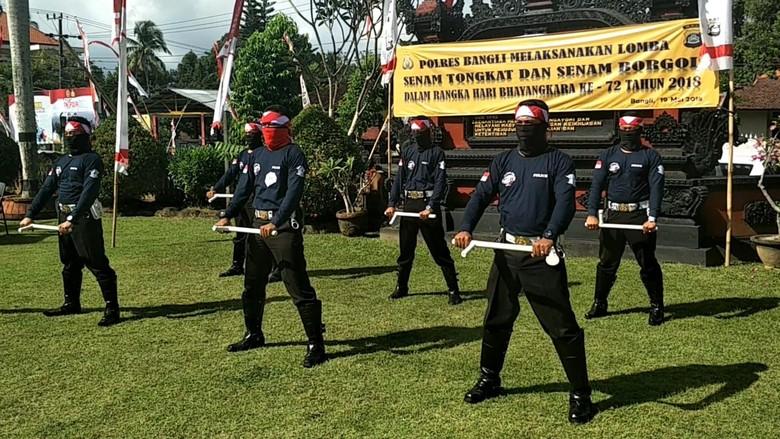Perketat Pengamanan, Polisi di Bali Tingkatkan Kemampuan Bela Diri