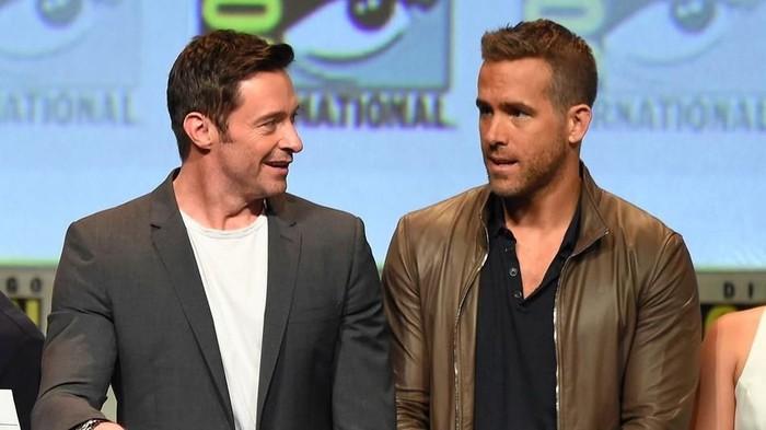 Ryan Reynolds dan Hugh Jackman