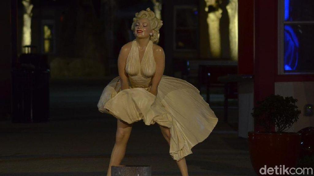 Foto: Marilyn Monroe Hingga Lincoln Ada di Taman Ini