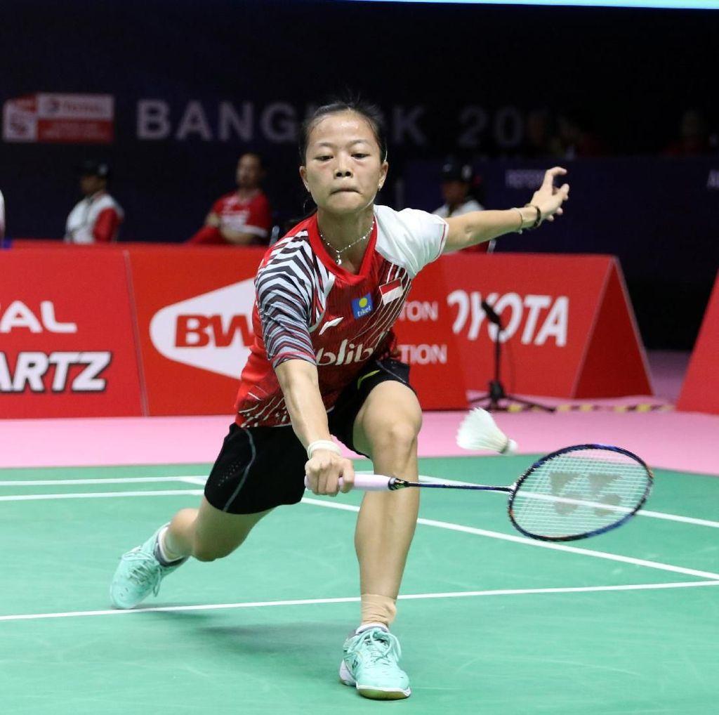 Fitriani Kalah, Indonesia Tertinggal 0-1 Dari Malaysia
