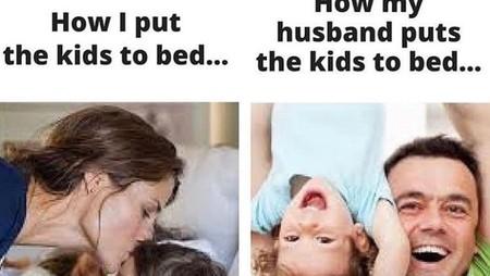 Aneka Meme Parenting tentang Tidur Anak, Mana yang Paling Pas?