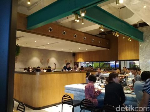 Restoran Sisterfield kini hadir di Jakarta, tepatnya Pantai Indah Kapuk.