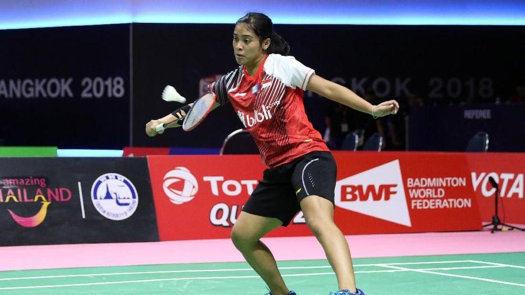 Gregoria Menang, Indonesia Ungguli Prancis 1-0