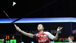 Fitriani Kalah, Indonesia Tertinggal 0-1 Dari China