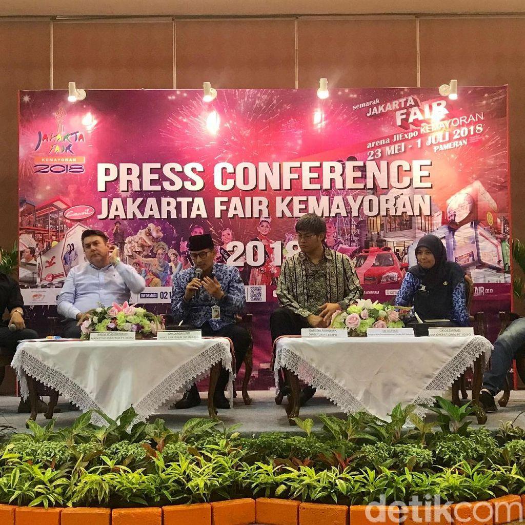 Sandiaga Ajak Pasukan Oranye Nobar Piala Dunia di Jakarta Fair