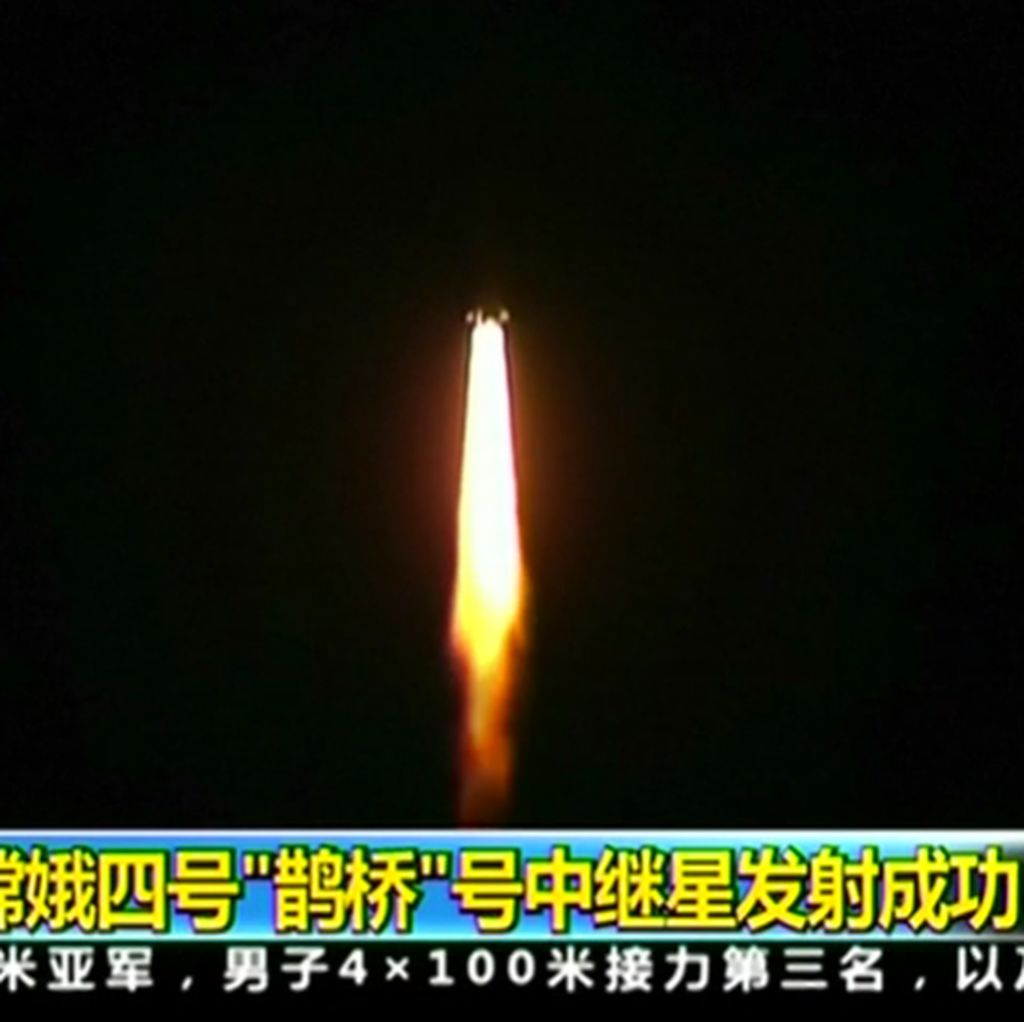 China Luncurkan Satelit untuk Telusuri Sisi Gelap Bulan