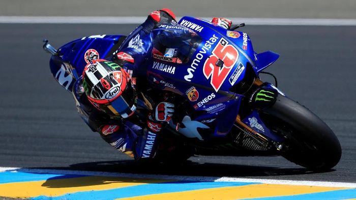 Maverick Vinales merasa paling menderita di Yamaha. (Foto: Gonzalo Fuentes/Reuters)