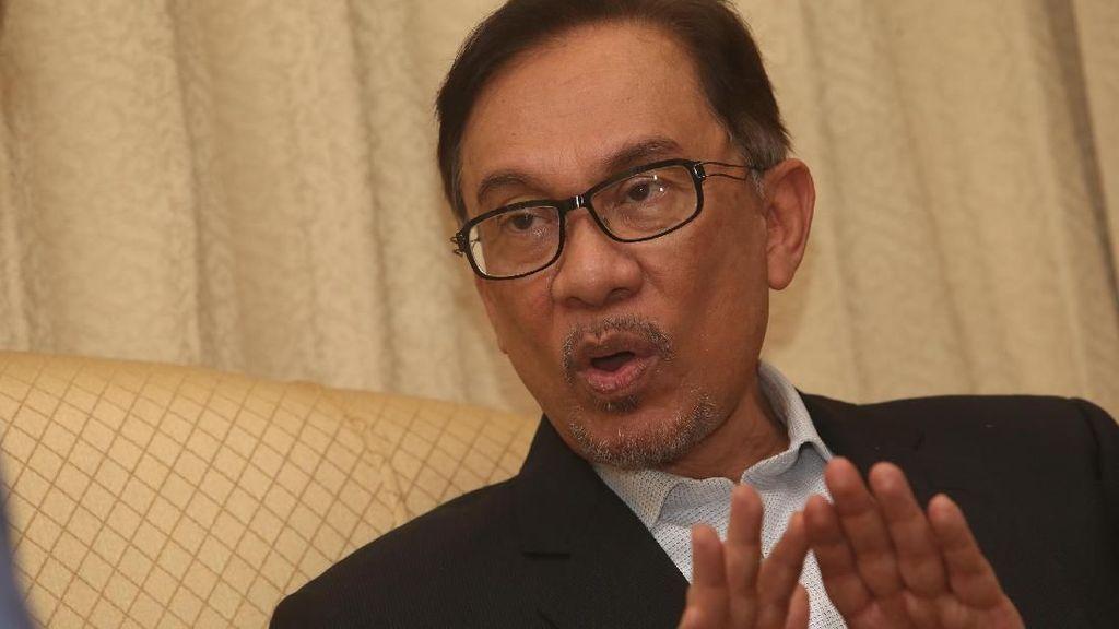 Kembali Dituduh Lakukan Pelecehan Seksual, Anwar Ibrahim Membantah