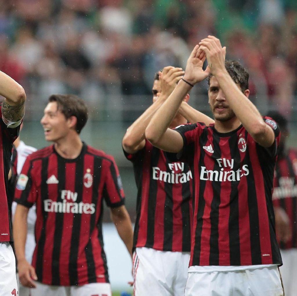AC Milan vs Fiorentina, Akhir Musim Manis Rossoneri