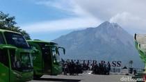 Letusan Freatik Gunung Merapi Kembali Terjadi Petang Ini