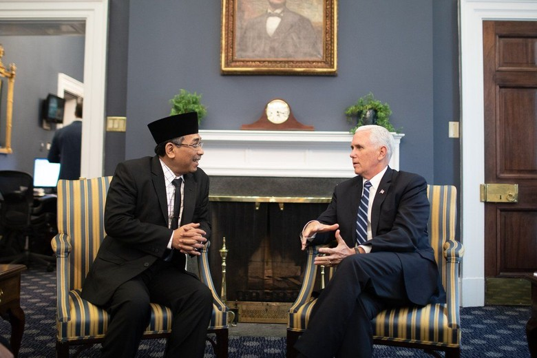 Wapres AS Posting Pertemuan dengan Pengurus NU, Bahas Lawan Jihad