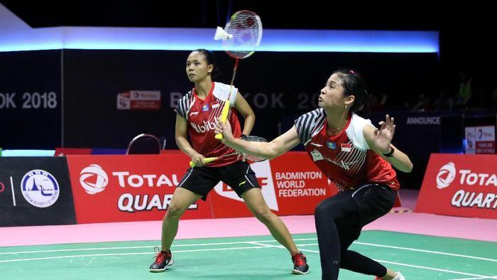 Della Destiara Haris/Rizki Amelia Pradipta menjadi penentu kemenangan Indonesia atas Malaysia (Foto: dok. Humas PBSI)