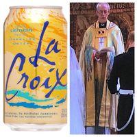 Waduh! Busana Tamu Royal Wedding Ini Sama dengan Motif Minuman Kaleng?